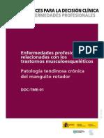 Patologia Tendinosa Cronica Del Manguito Rotador