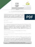 Acta Cierre y Recibo de Propuestas Proceso 064
