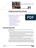 Cisco Configuring Control Plane Policing