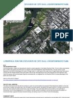 Riverfront Park & City Hall Additions