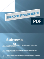 Diapositivas Estados Financieros