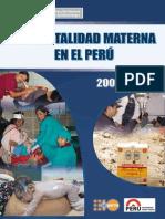 Mortalidad Materna en El Peru (2)