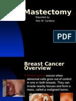 Mastectomy Presentation