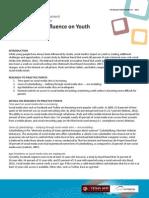 YDI RB 17 Social Medias Influence on Youth
