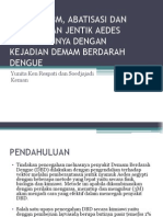 Perilaku 3m, Abatisasi Dan Keberadaan Jentik Aedes