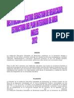PRESENTACIÓN DEL ÁREA DE INGLES