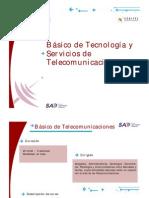 Curso Basico de Tecnologia y Servicios de Telecomunicaciones