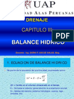 Cap. 3 Balance Hidrico
