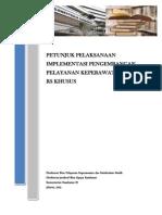Petunjuk Pelaksanaan IMPLEMENTASI (Rev Feb 2013) 1