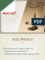 acto medico presntación