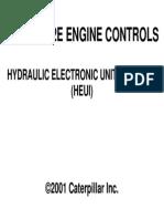 3408E-3412E Engine Controls