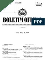 Lei n 88-VI-06 de 9 Janeiro - Prestacao Servico Publico Essencial