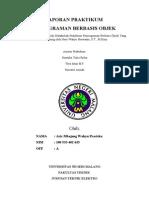 Format Laporan Praktikum Pbo