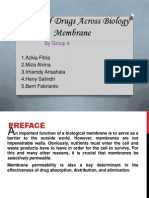 Grup 4 Passage of Drugs Across Biology Membrane