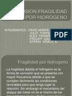 Corrosion Fragilidad Por Hidrogeno