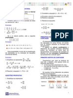 Analise Combinatoria e Probabilidade - 2012