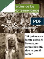Proverbios de los Indios Norteamericanos, Luis Salvador Velasquez Rosas