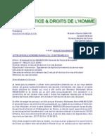 Lettre Au Consul de France Marrakech Du 12 Septembre 2013 - Dossier Mr HMAMOUCHI