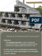 Pre Stressed Concrete