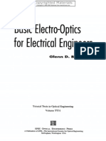 Basic Electro Optics for Electrical Engineers - Boreman