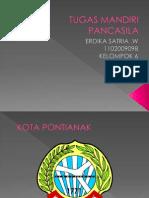 Pancasila kota Pontianak