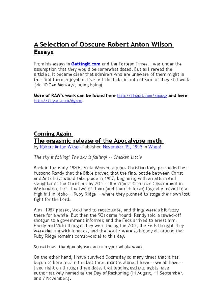 Art and objecthood essay