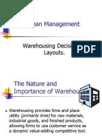 Warehouse Layout Design Final