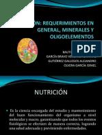 NUTRICIÓN - BIOMOLECULAS