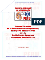 Normas Peruanas de RCP 2010