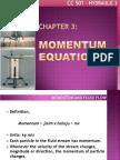 MOMENTUM EQUATIONS