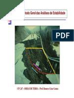 AULA 02 - Metodo Geral das Análises de Estabilidade