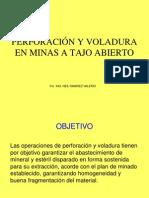 Perforacion y Voladura en Minas a Tajo Abier