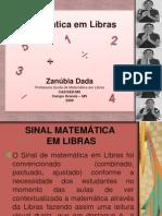 Matematica Em Libras Dada 2009