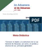2405 Ley General Aduanas