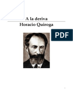 Horacio Quiroga - A La Deriva