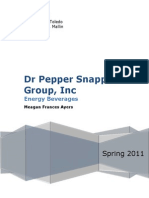 Case 1 Dr Pepper Snapple Group Inc