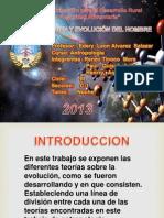 Evolucion Del Hombre Exposicion