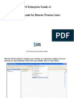 SAS Enterprise Guide 4.1