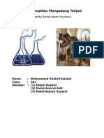 Science folio form2 (nutrition)