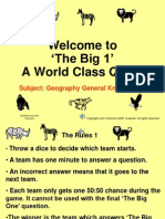 The Big 1 General Knowledge 1