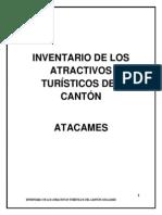 Inventario de Atractivos Turisticos Canton Atacames