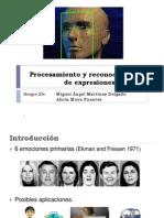 Procesamiento y Reconocimiento de Expresiones Faciales
