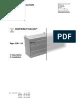 Raytheon Anschutz DISTRIBUTION UNIT Type 138-118