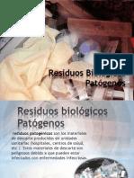 Residuos Biológicos Patógenos