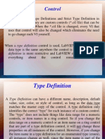 Control Type Differance