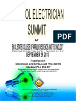 Electricians Summit Poster 11-14