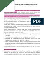 Cara Membaca Prospektus Dan Laporan Keuangan