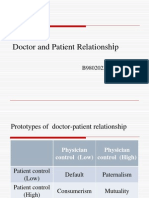 MDE-Week15-b9802023 Doctor and Patient Relationship