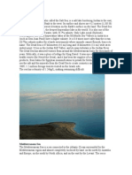 Dead Sea Mediterranean Sea Baltic Sea Red Sea