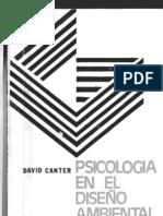 Psicologia en el Diseño Ambiental [David Canter]